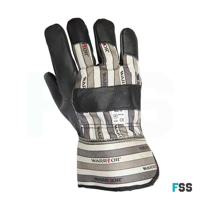Warrior Black Hide Rigger Glove