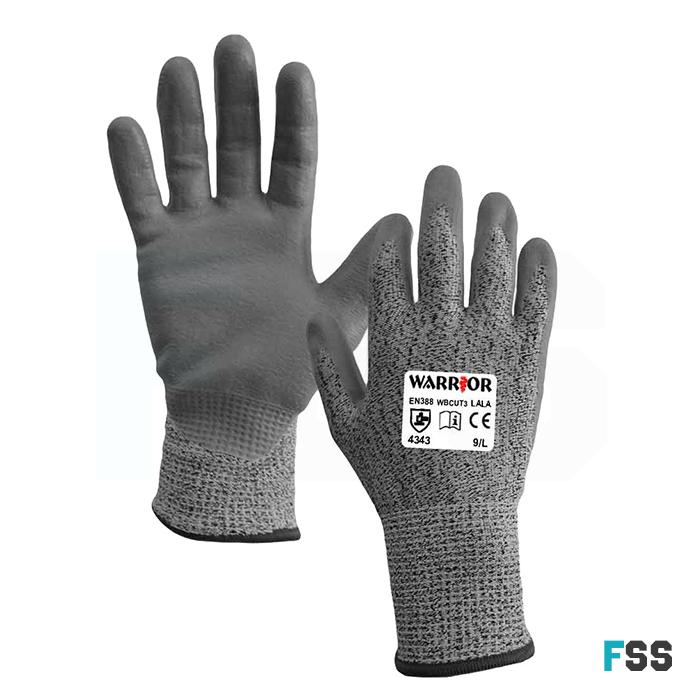 Warrior anti-cut gloves level 3 wbcut3