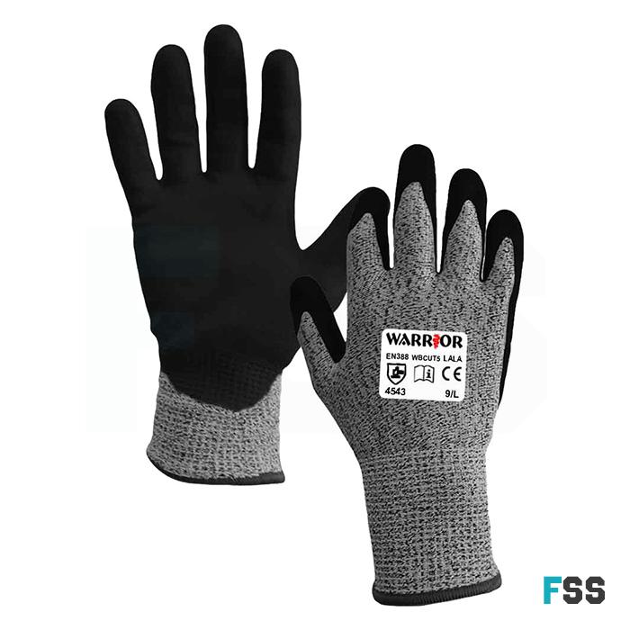 Warrior anti-cut gloves level 5 wbcut5