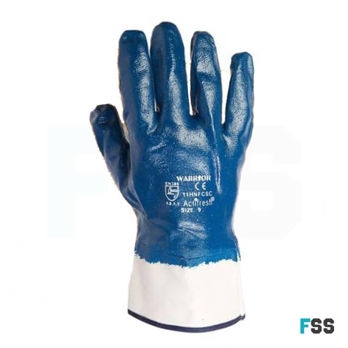 Warrior Heavy Weight Nitrile Gloves