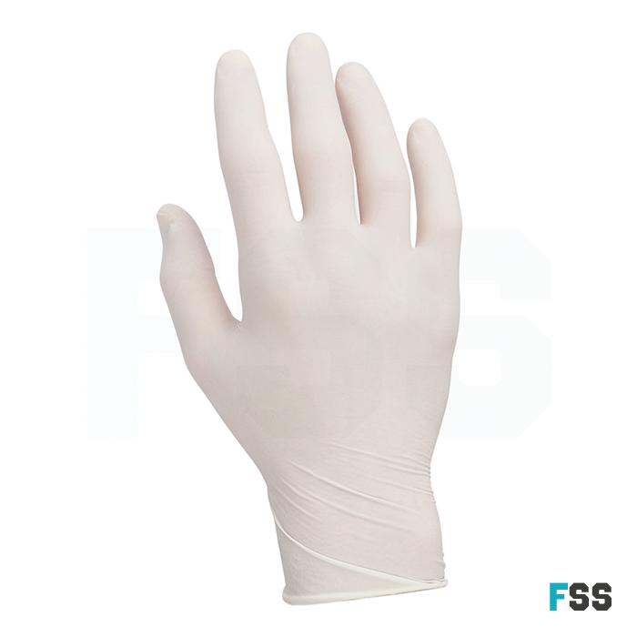 Powder Free Clear Latex Gloves (box of 100)