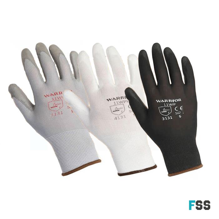 Warrior PU Gloves - General Use