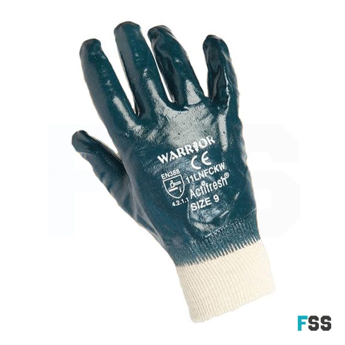 Warrior Light Weight Nitrile Gloves