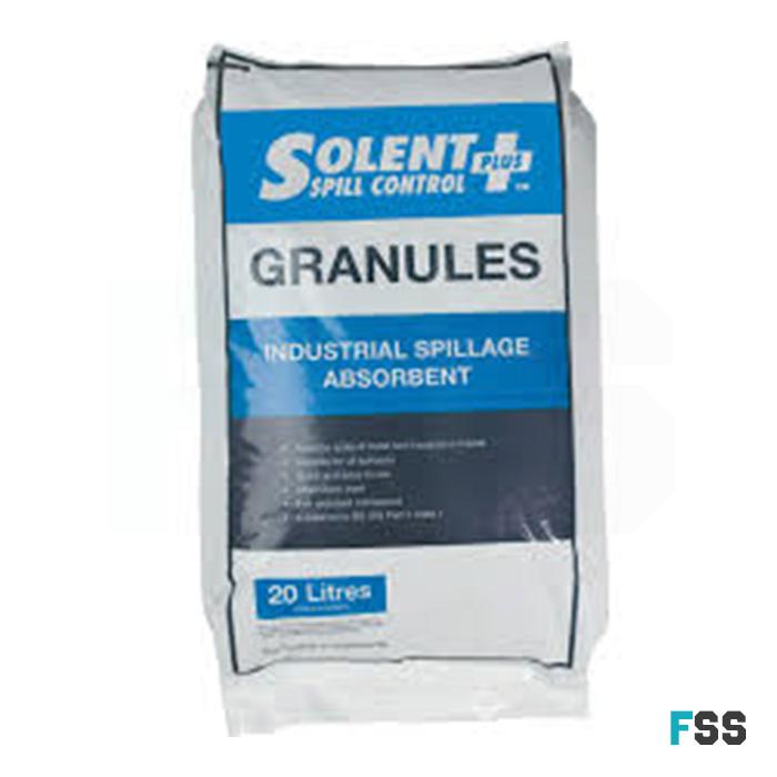 Clay oil spill granules