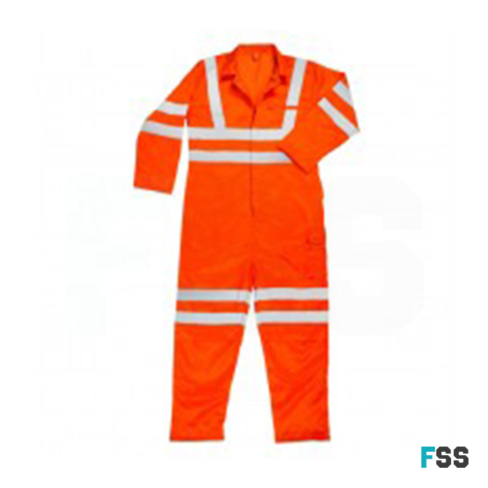 Warrior Rail Spec Hi-Vis Coverall (Orange)