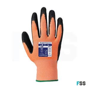 Portwest Amber Cut 3 glove nitrile foam