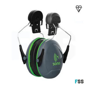 Sonis 1 Helmet Mounted Ear Defenders - SNR 26