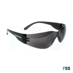 Warrior lightweight safety specs smoke lens