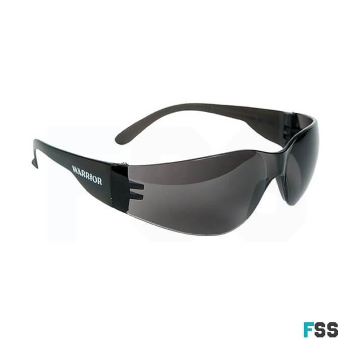 Warrior lightweight safety specs smoke lens