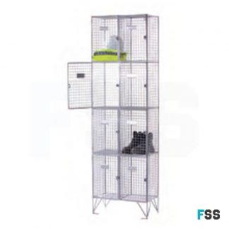 Express wire mesh locker