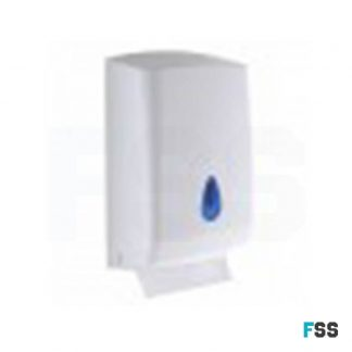 Plastic C fold dispenser