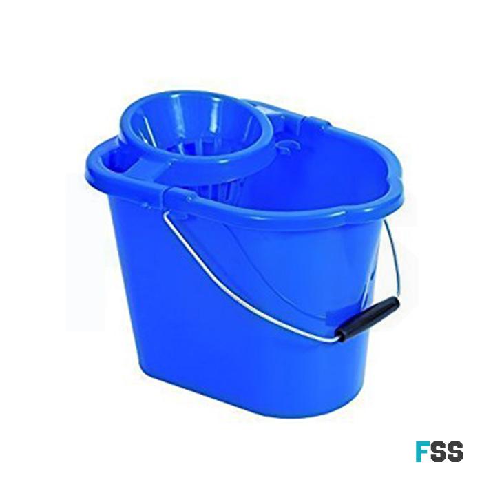 Plastic-mop-bucket
