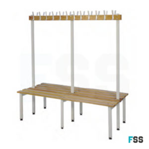 Single and double unit bench
