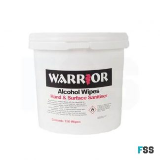 warrior tub alcohol wipes