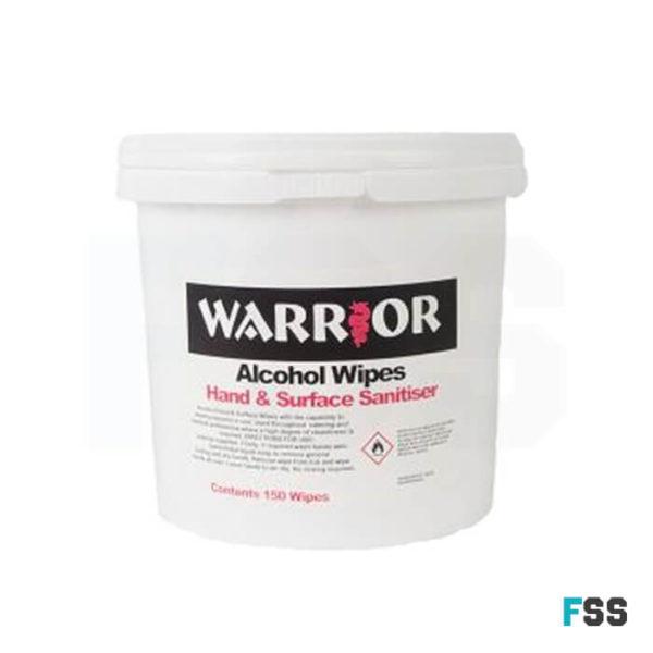 warrior tub alcohol wipes