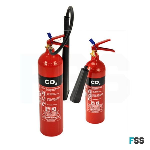 CO2-extinguishers