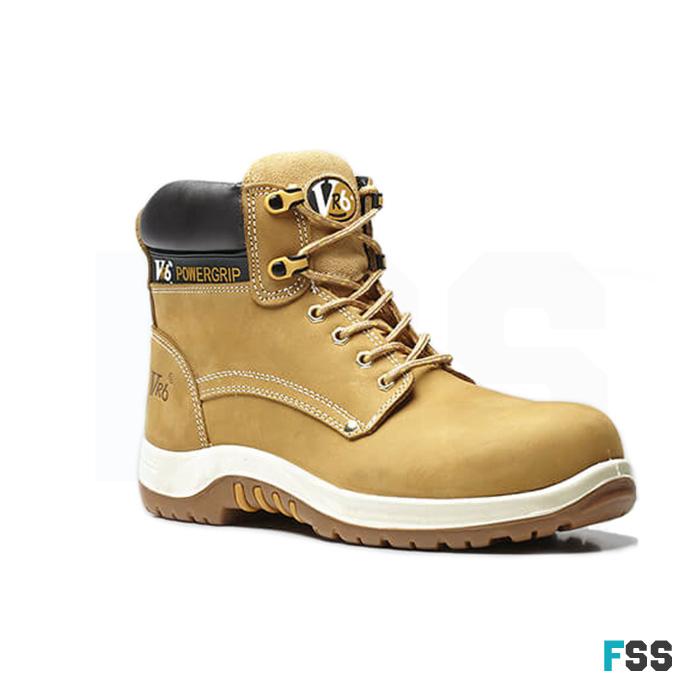 V12 Puma Safety Boots Honey Nubuck