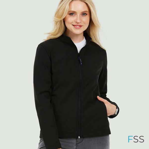 UC613-Ladies-Classic-Full-Zip-Soft-Shell-Jacket