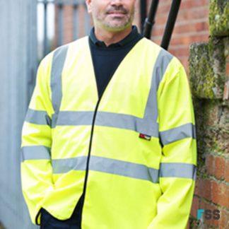 warrior-hi-vis-long-sleeved-waistcoat-yellow-fss