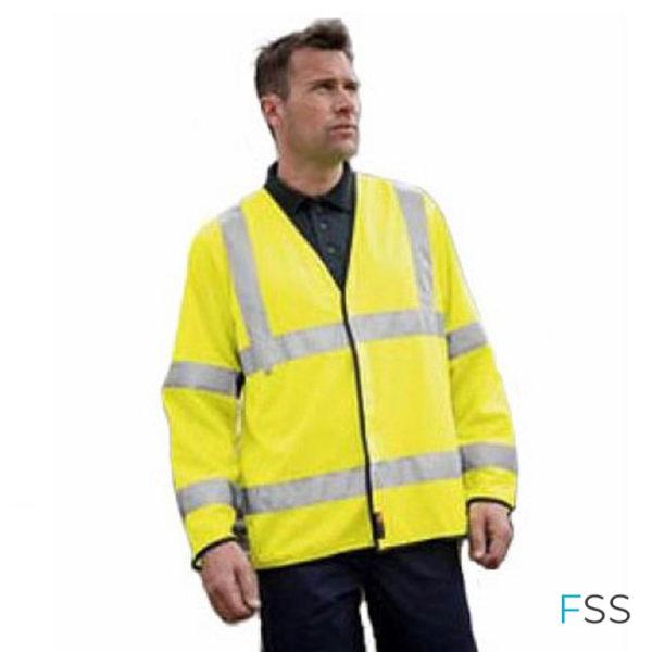 Warrior-Yellow-High-Visibility-Long-Sleeved-Flame-Retardant-Waistcoat