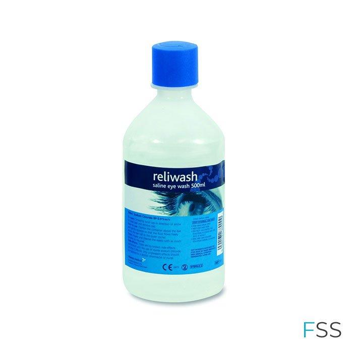 Round Eye Wash Bottles 500ml