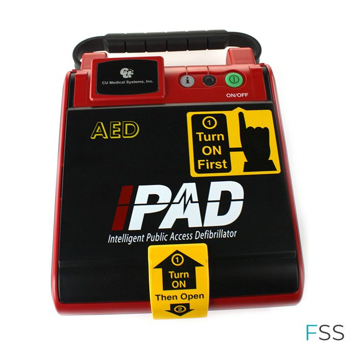 iPAD Saver NF1200A Fully Automatic Defibrillator - AED