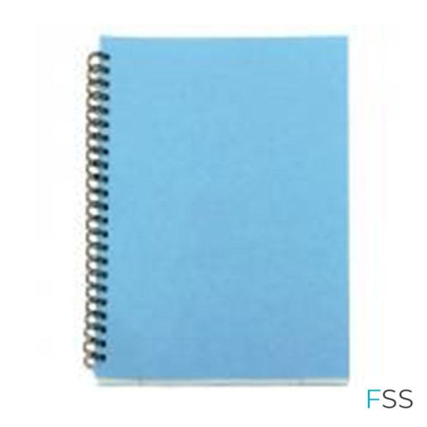 A5-Spiral-Pad-80-Leaf-Blue-Pack-of-12