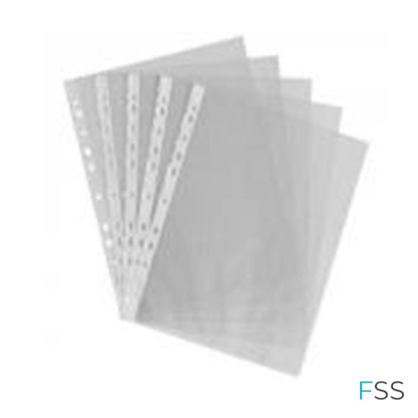 A4-Punched-Pocket-Clear-35-micron-270486-Pack-of-100
