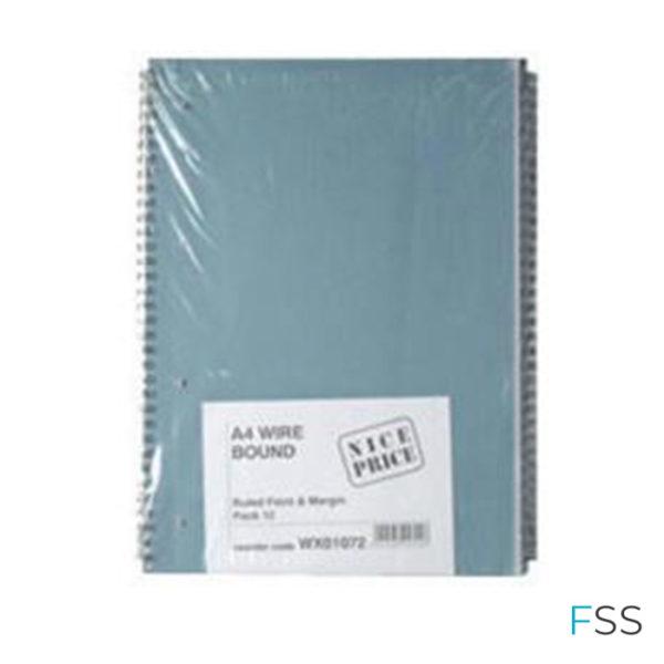 Blue-Bound-A4-Spiral-Pad-80-leaf-Pack-of-12