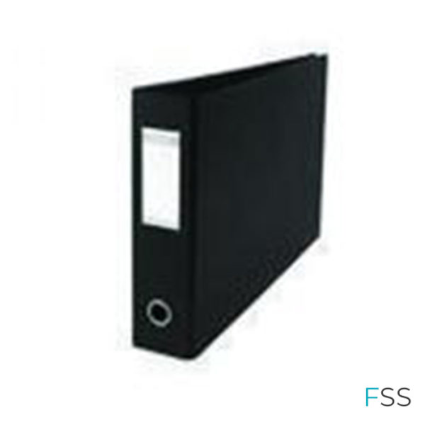 Elba-70mm-Lever-Arch-File-A3-Black-Pack-of-2