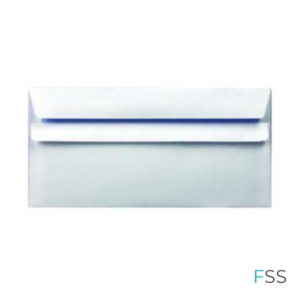 Envelope-DL-90gsm-Self-Seal-White-Pack-of-1000