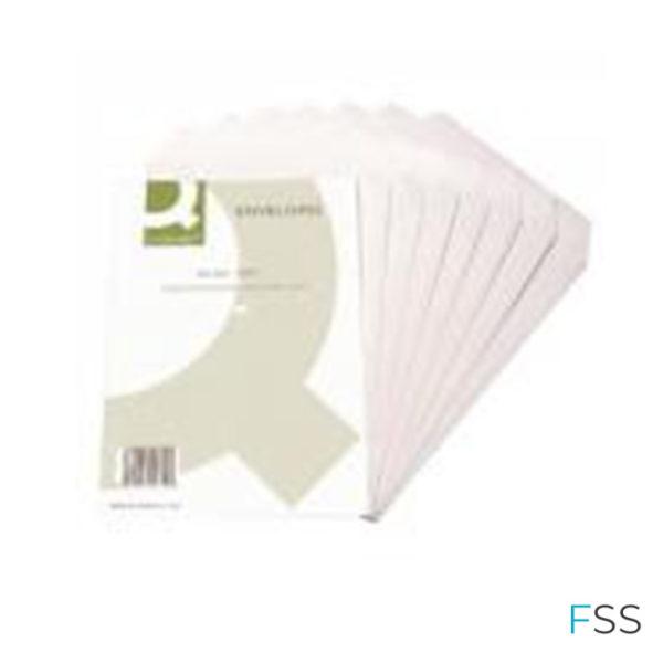 Q-Connect-C4-Envelopes-Self-Seal-90gsm-White-250pk