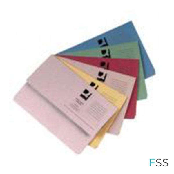 Q-Connect-Document-Wallets-Foolscap-Assorted-50pk