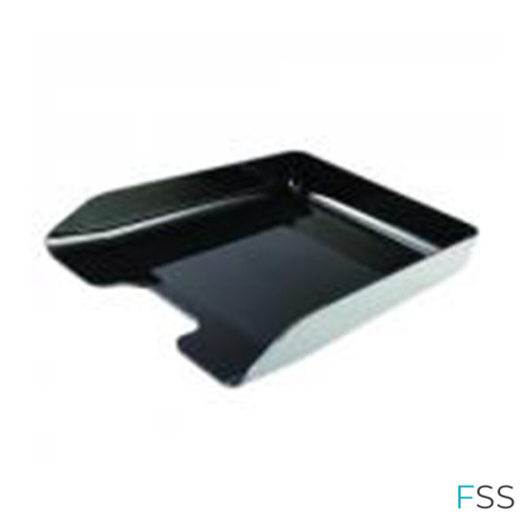 Q-Connect-Letter-Tray-Black