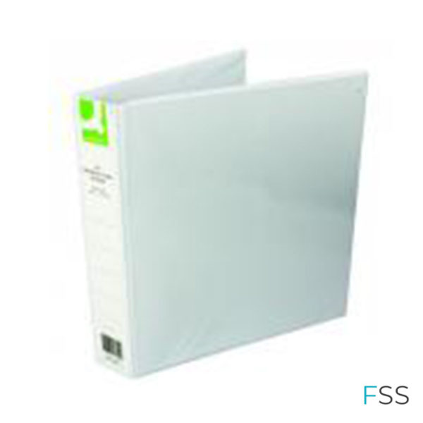Q-Connect-Presentation-40mm-4D-Ring-Binder-A4-White-Pack-of-6