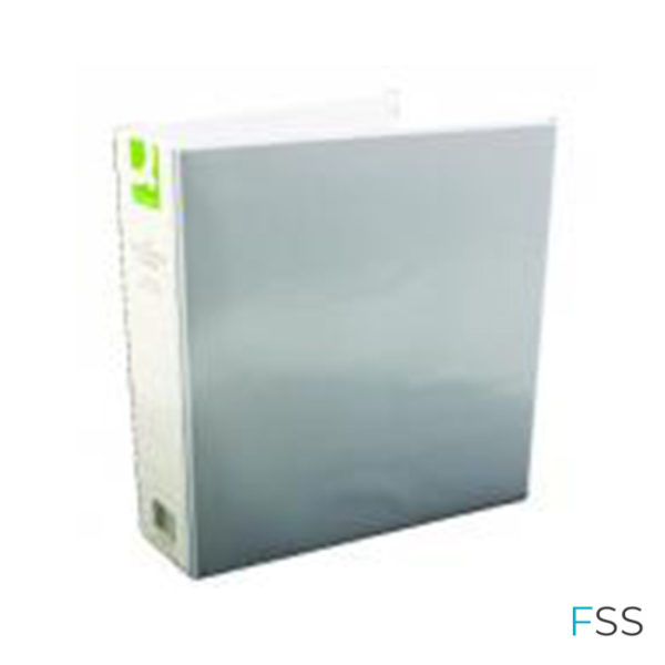 Q-Connect-Presentation-50mm-4D-Ring-Binder-A4-White-Pack-of-6