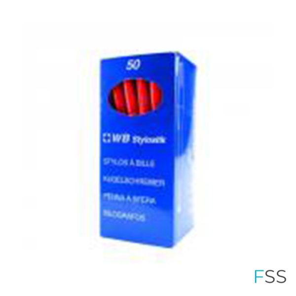 Red-Medium-Ballpoint-Pens-Pack-of-50